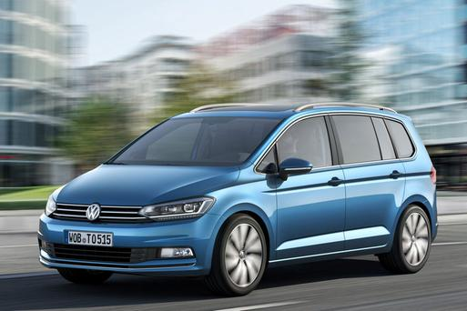 Volkswagen Touran - arriving in late autumn.