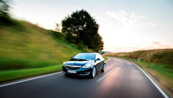 Powering on: 2l-litre Opel Insignia diesel gets more torque.