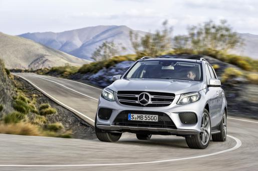 New crop: Mercedes GLE - new petrol-electric plug-in hybrid