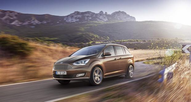 Ford C-MAX - arriving in May