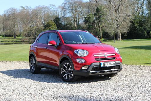 Well-kitted out: The FIAT 500X crossover
