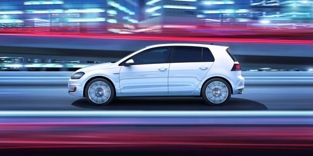 New VW Golf GTE plug-in gets here in July.
