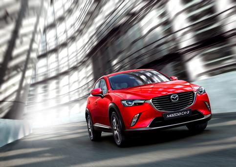 Imminent arrival: Mazda CX-3