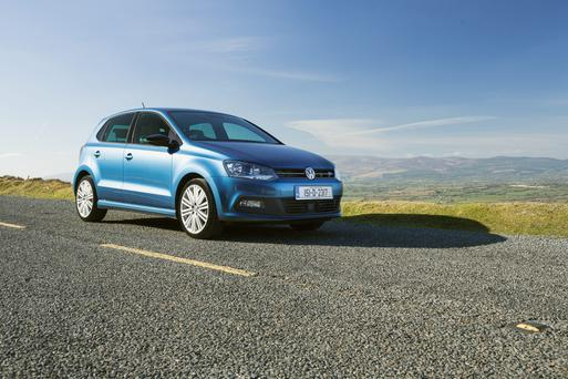 The Volkswagen Polo 'GT Blue' has a driver fatigue system.