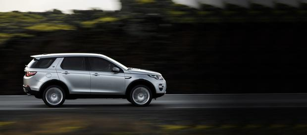 In demand: Land Rover Discovery Sport