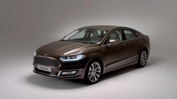 Premium treatment: Ford Mondeo Vignale
