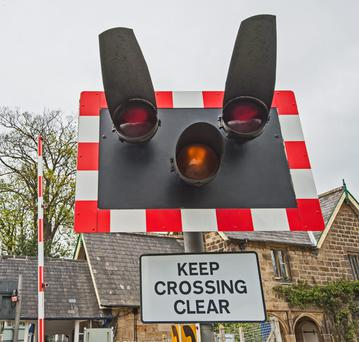 It is vitally important to approach a level crossing with the utmost care, and to slow down and be prepared to stop