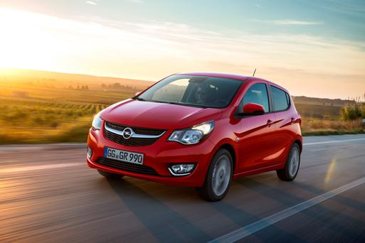 Opel Karl: five door city car