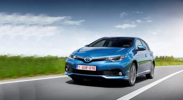 Toyota Auris featuring the 1.2T engine