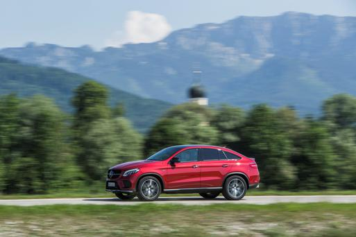 Attitude: The Mercedes GLE Coupé