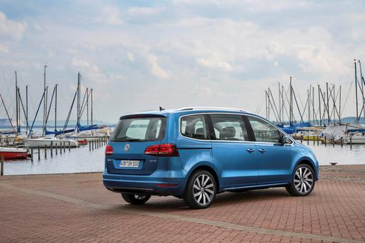 Volkswagon Sharan will be on sale in Ireland