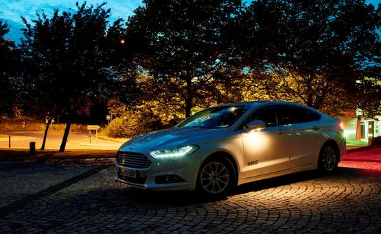 Ford's new lighting technology lets you see potential hazards more easily when driving at night
