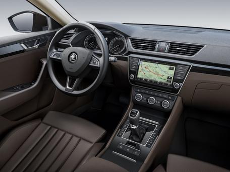 Skoda Superb interior - infotainment is increasing in importance for car buyers