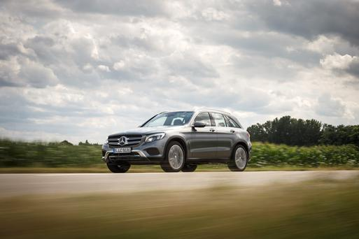 Mid-sized crossover: Mercedes GLC