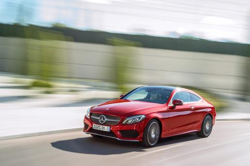 Head turner: Mercedes C-Class Coupe