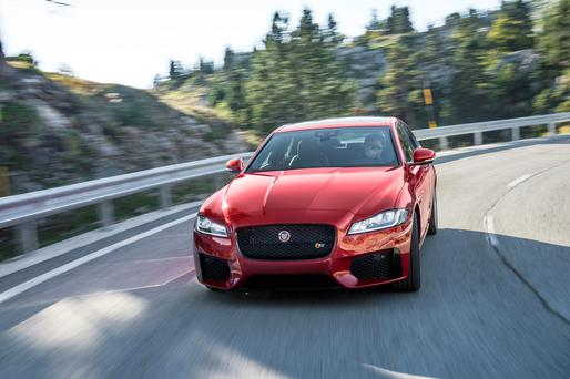 Capable of competing: Jaguar XF