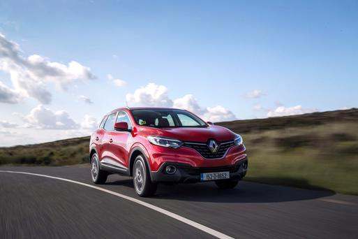 Making up for lost time: Renault Kadjar
