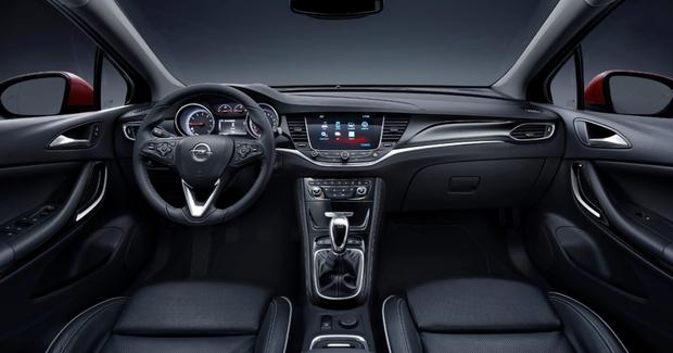 The seats in the new Opel Astra were designed in consultation with NASA