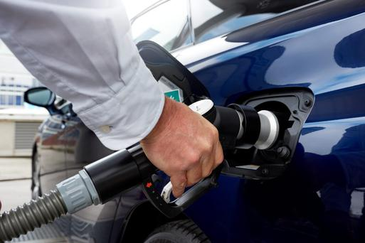 Refuelling the hydrogen cell in the Toyota Mirai