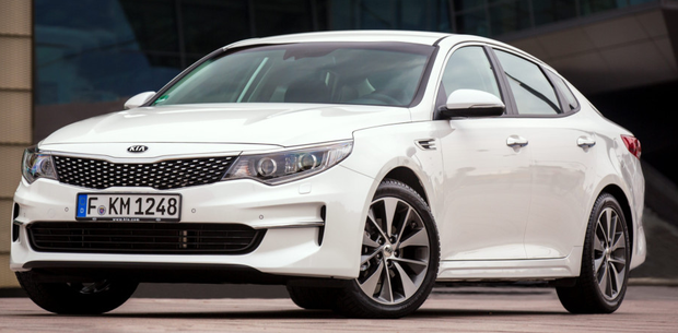 Just launched: The Kia Optima has a new body