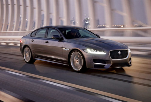 The new Jaguar XF 'offers a more sporty drive'
