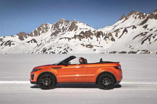 Evoque - a car for all seasons