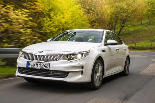 Due soon: Kia Optima