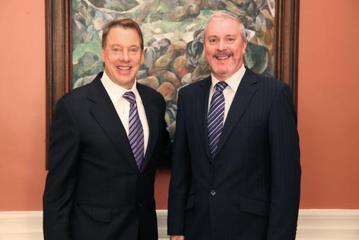 Bill Ford and Ciaran McMahon.