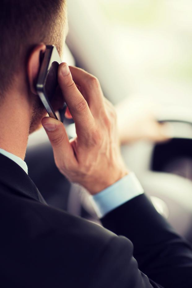 Mobile phone use while driving is one of the top concerns among people who contact the Road Safety Authority