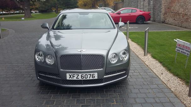 Bentley now offers an exclusive stone trim.