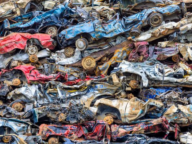 Around 130,000 cars will be scrapped this year.