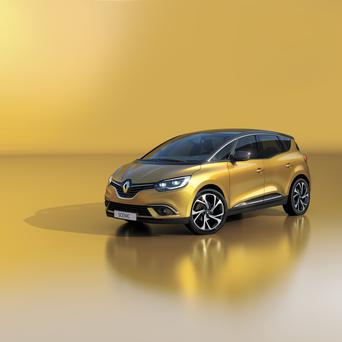 Here in Ocotober: the new Renault Scenic.