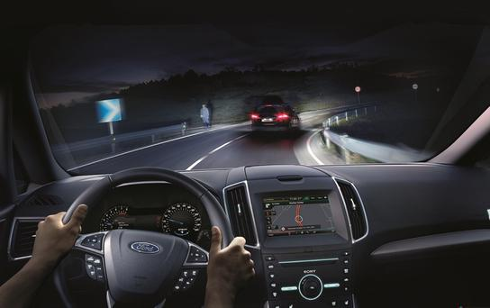 Ford says it has developed glare-free technology.