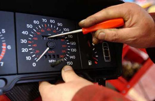 Clocking - many imported cars have a history.