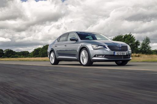 Skoda are asking people to sit in, drive and compare their new Superb.