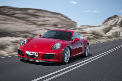 0-60 mph in seconds: Porsche 911