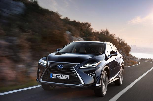 The Lexus RX450h hybrid