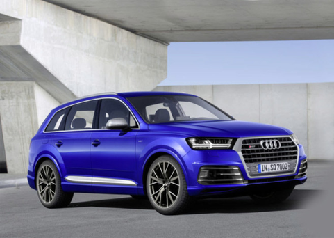 Due on the market: Audi SQ7 TDI.