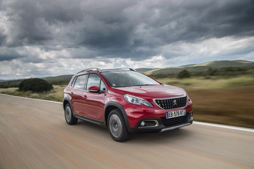 The revised Peugeot 2008.