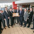 Walsh's Toyota Kilkenny and Tadg Riordan Motors of Ashbourne, Co Meath have become the first in Ireland to receive the Toyota Service Management (TSM) award.