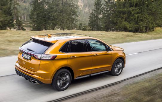 Ford's mid-size SUV, the Edge.