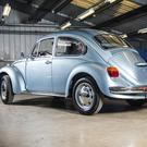 Classic Volkswagen Beetle with probably the lowest mileage in existence.