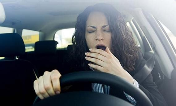 Sleepy drivers are a risk to all