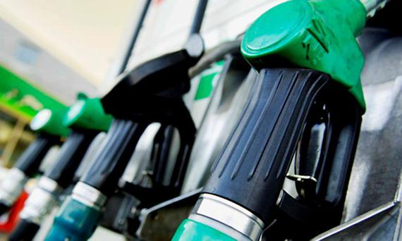 Over a month, the higher cost of petrol has added €5 to the spend on 150 litres of unleaded a month. A typical Irish motorist now paying out around €195 per month for fuel. Stock Image