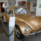 The deluxe Beetle model in Mayo gold.