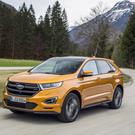 Pricey: The Ford Edge will cost €60,000.