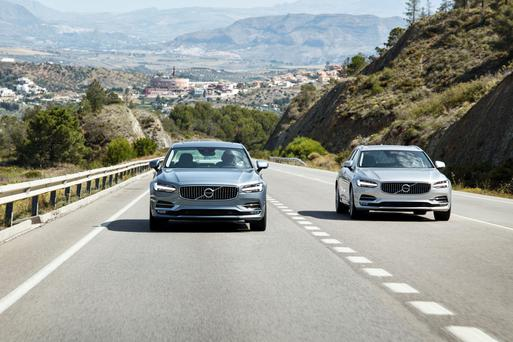 Volvo S90 and V90.