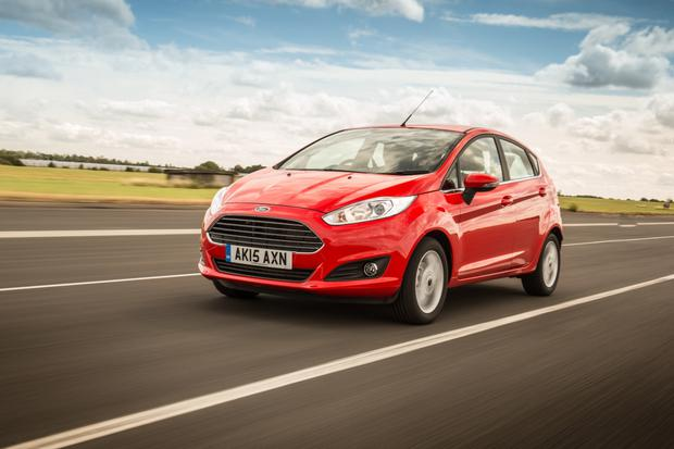 The study involved forty drivers in Ford Fiestas.