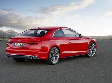 Audi A5 Coupe rear