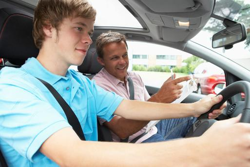 IRISH emigrants returning home are being forced to pay out more than €600 for mandatory driving lessons. Stock image